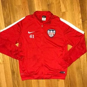 Nike Boys Soccer Jacket Dri-Fit